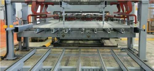 Производство панельных секций на автоматической линии