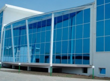 Алюминиевые витражи - витражное остекление зданий